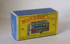 Repro Box Matchbox 1:75 Nr.74 Mobile Canteen