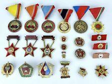 More details for 23 soviet & eastern bloc medals & medallions