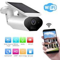 Caméra de sécurité solaire caméra sans fil WIFI IP 1080P 2MP de sécurité