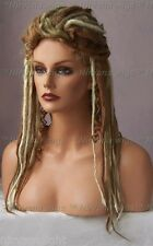 Narnia 3Tone Sandy Blonde/Blonde/Golden Blonde Long Dreads/Dreds Goth/Punk Wig