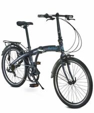 "Durban One XL Speed Cool Black w/24"" Wheels Folding Bike"
