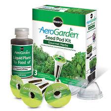 NIB Factory-Sealed Miracle-Gro® AeroGarden™ Gourmet Herb Seed Pod Kit (3-Pods)