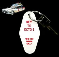 """KEY TO ECTO-1"" Ghostbusters PROP KEY TAG movie Dr. Venkman, 1984, proton pack"