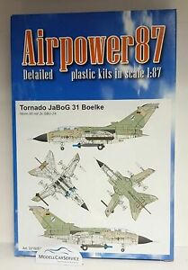 """Airpower87 (H0): 221600341 Tornade Bomber Fighter Wing 31 """" Boelcke """""""