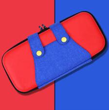 Mario Schutz Tasche für Nintendo Switch, Spiele und Zubehör Case Nylon