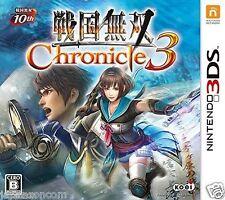 Sengoku Musou Chronicle 3 KOEI NINTENDO 3DS JAPANESE  JAPANZON