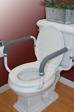 Toilet Safety Frame Rail Bathroom Grab Bars Seat Medical Support Handicap Arms
