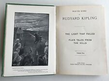 Selected Works of Rudyard Kipling Volume-2 Light That Failed Plain Tales Collier