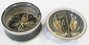 Denby Fresco Design Leaf Bowl and  Dish