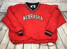 Vintage Nebraska Cornhuskers XXL CHAMPION 90's Pullover Jacket