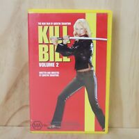 VHS Movie - Kill Bill Volume 2 - PAL - Box + Cassette Tape - Quentin Tarantino