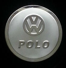 NEW VW POLO 2011-14  ALLOY/STAINLESS STEEL PETROL CAP COVER UK STOCK