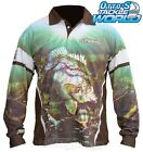 Tackle World Yellow Belly 2016 Long Sleeve Fishing Sun Shirt BRAND NEW at Otto's