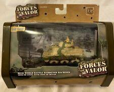 FORCES OF VALOR 1:72 Scale U.K. M3 Grant Die Cast Tank NIB factory SEALED