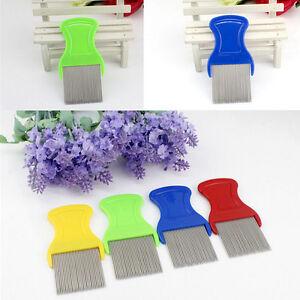 Anoplura Flea Comb Cootie Stainless Steel Lice  Comb for Children Flea Comb H_ju