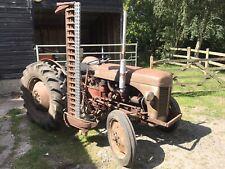 1958 Massey Ferguson FF30 Diesel Tractor Original Documents And Full History