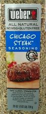 Weber Chicago Steak Seasoning 26 Oz Made With Sea Salt Free Shipping in the USA