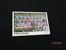 TFC TOULOUSE FC   Equipe Image sticker N° 320  FOOTBALL 85 PANINI 1985