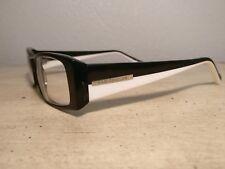 Kam Dhillon Eyeglass Frames Black & White 53 16 140