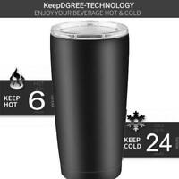 Christmas Stainless Steel Tumbler with Lid 20oz Double Wall Vacuum Insulated