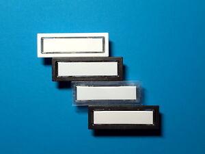 Klingeltaster Lira passend für Renz 85-116, JU 21-111,DAD weiß,braun,schw.glaskl