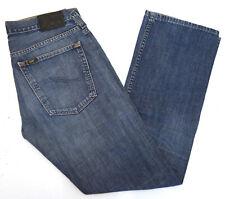 LEE Flint Herren Jeans bootcut schlag Hose 32/32 W32 L32 stonewashed blau C395