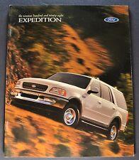 1998 Ford Expedition Truck Brochure XLT 4x4 Eddie Bauer Excellent Original 98