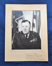 Italian Theater - Signed Photo of MGen. John E. Dahlquist, 36th ID