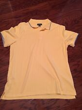 NWoT ~ SADDLEBRED ~ Yellow Short Sleeve Casual Polo/Golf Shirt Size XL  MSRP $26