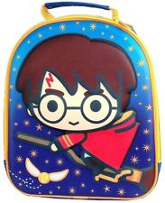 Harry Potter 'Quidditch' Charm 3D EVA Insulated School Dinner Lunch Box Bag