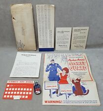 Little Orphan Annie Secret Guard Booklet in Original Mailer with Mysto Snapper.