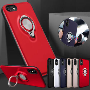 Samsung S8 S9 plus Note 8 Magnetic Metalic Luxury Case Cover Ring Holder Bundle