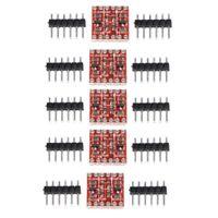 5 Set 4 Channel Bi-Directional Logic Level Shifter Converter 3.3V-5V For Arduino