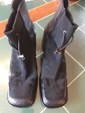 PAZZO Preferred Black Leather Boots Size 7.5 M