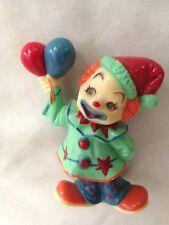 "Humor 3"" Clown in Green & Blue Suit Figurine"