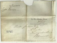 1824 ohms couronne libre wrapper secrétaire d'état du bureau à Moïse James WORCS