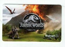 Walmart Gift Card - Jurassic World, Dinosaurs - Fallen Kingdom - No Value