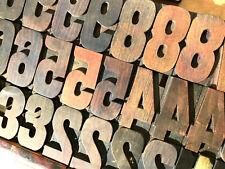 Vintage 31 Wood Numbers Letterpress Print Type 3 3 516 Printing Press Lot