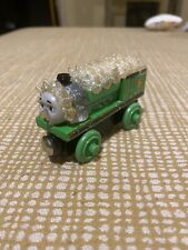 """SNOW & ICE COVERED PERCY Thomas The Train Wooden Railway """" #2"""
