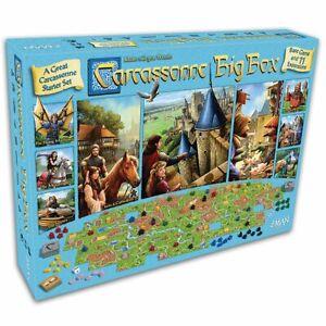 Carcassonne Big Box 2017 Board Game Card Game