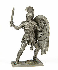 GR57 Greek hoplite 490 BC.  Greece metal sculpture 54mm
