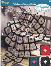 Crochet Pattern ~ JEWELS IN THE SAND Afghan ~ Instructions