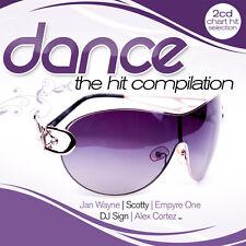 CD Dance The Hit Compilation von Various Artists  2CDs