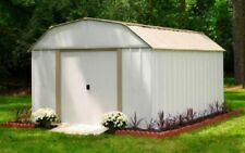 Large Storage Shed Outdoor Kit Metal Sheds Outside Patio Kits Organizer Utility