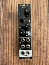 4 Ch Mixer Synth Module //  6HP Analogue Eurorack Mixer // Hampshire Electronics