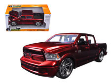 2014 Dodge Ram 1500 Pick Up Truck Red 1:24 Diecast Model - 54040r*