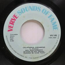 Jazz 45 Wes Montgomery - California Dreaming / How Insensitive On Mgm Records