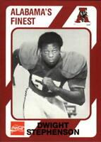 1989 Alabama Coke 580 Football Base Singles (Pick Your Cards)
