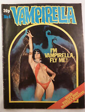 Vampirella #4 - Warren Publishing UK - 20p (Pence) Publication 1975  FN 6.0