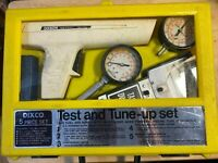 Dixco 5 Piece Test and Tune Up Set Model 1333 (Untested Sold as Is)
